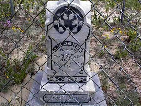 JONES, J. M. - Cochise County, Arizona   J. M. JONES - Arizona Gravestone Photos