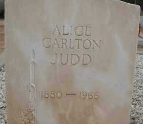 JUDD, ALICE - Cochise County, Arizona | ALICE JUDD - Arizona Gravestone Photos