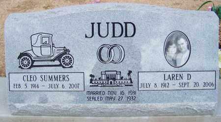 JUDD, CLEO - Cochise County, Arizona | CLEO JUDD - Arizona Gravestone Photos