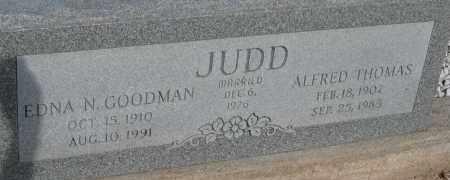 JUDD, EDNA N. - Cochise County, Arizona | EDNA N. JUDD - Arizona Gravestone Photos