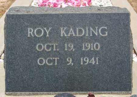 KADING, ROY - Cochise County, Arizona   ROY KADING - Arizona Gravestone Photos
