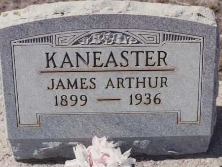 KANEASTER, JAMES ARTHUR - Cochise County, Arizona | JAMES ARTHUR KANEASTER - Arizona Gravestone Photos