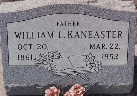 KANEASTER, WILLIAM L - Cochise County, Arizona | WILLIAM L KANEASTER - Arizona Gravestone Photos