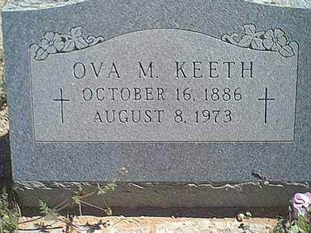 KEETH, OVA M. - Cochise County, Arizona | OVA M. KEETH - Arizona Gravestone Photos
