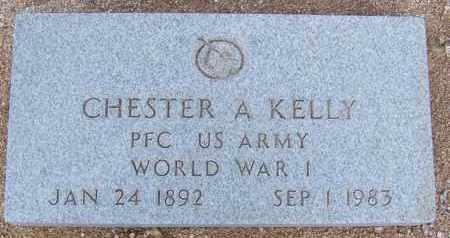KELLY, CHESTER A - Cochise County, Arizona | CHESTER A KELLY - Arizona Gravestone Photos