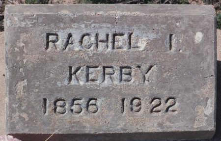 KERBY, RACHEL I - Cochise County, Arizona   RACHEL I KERBY - Arizona Gravestone Photos
