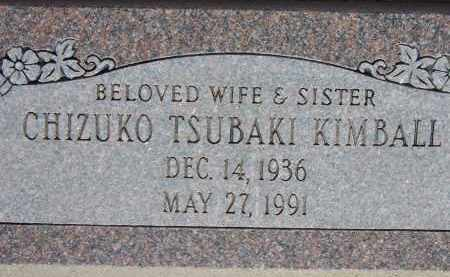 KIMBALL, CHIZUKO TSUBAKI - Cochise County, Arizona | CHIZUKO TSUBAKI KIMBALL - Arizona Gravestone Photos