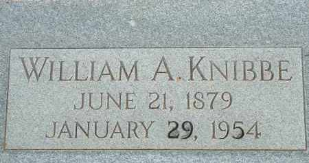 KNIBBE, WILLIAM A. - Cochise County, Arizona | WILLIAM A. KNIBBE - Arizona Gravestone Photos