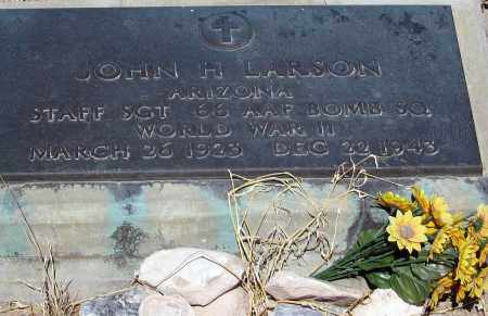 LARSON, JOHN H. - Cochise County, Arizona | JOHN H. LARSON - Arizona Gravestone Photos