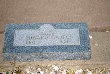LARSON, J. EDWARD - Cochise County, Arizona   J. EDWARD LARSON - Arizona Gravestone Photos