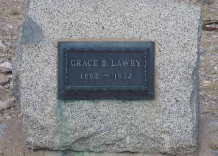 LAWRY, GRACE B. - Cochise County, Arizona | GRACE B. LAWRY - Arizona Gravestone Photos