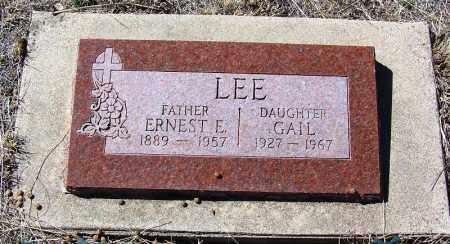 LEE, GAIL - Cochise County, Arizona | GAIL LEE - Arizona Gravestone Photos