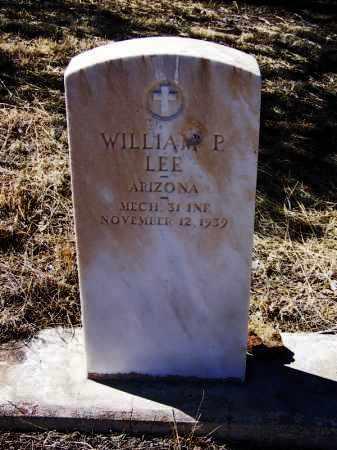 LEE, WILLIAM P - Cochise County, Arizona | WILLIAM P LEE - Arizona Gravestone Photos