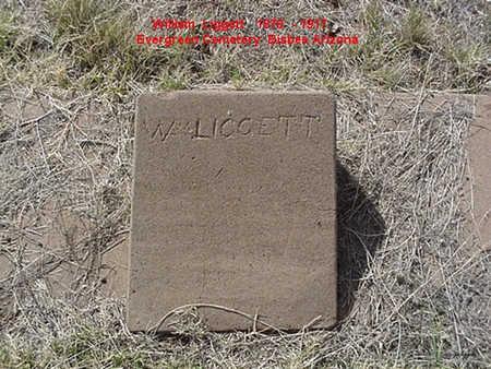 LIGGETT, WILLIAM - Cochise County, Arizona | WILLIAM LIGGETT - Arizona Gravestone Photos