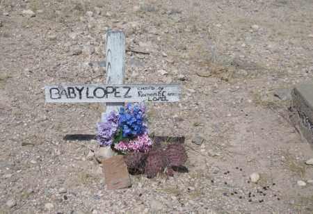 LOPEZ, BABY - Cochise County, Arizona | BABY LOPEZ - Arizona Gravestone Photos