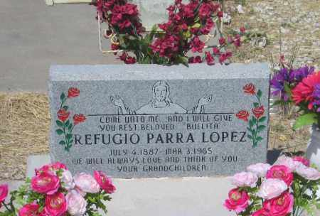 LOPEZ, REFUGIO - Cochise County, Arizona | REFUGIO LOPEZ - Arizona Gravestone Photos