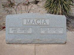ROBERTSON MACIA, ETHEL - Cochise County, Arizona | ETHEL ROBERTSON MACIA - Arizona Gravestone Photos