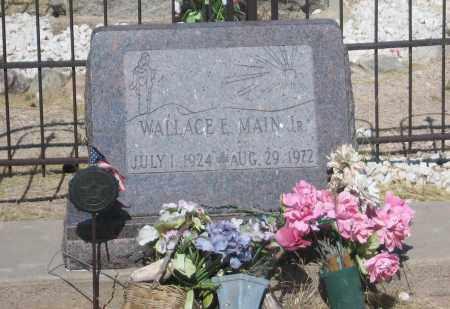 MAIN, WALLACE E.  JR. - Cochise County, Arizona | WALLACE E.  JR. MAIN - Arizona Gravestone Photos