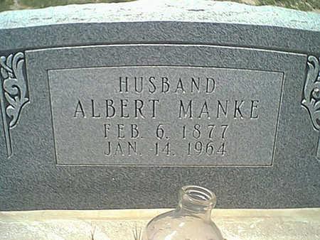 MANKE, ALBERT - Cochise County, Arizona | ALBERT MANKE - Arizona Gravestone Photos