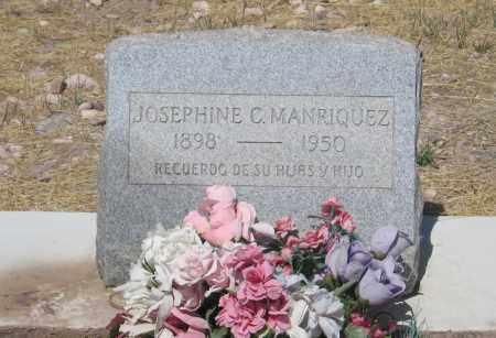 MANRIQUEZ, JOSEPHINE C. - Cochise County, Arizona | JOSEPHINE C. MANRIQUEZ - Arizona Gravestone Photos