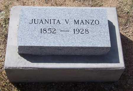 MANZO, JUANITA V. - Cochise County, Arizona | JUANITA V. MANZO - Arizona Gravestone Photos