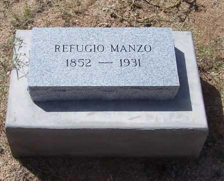 MANZO, REFUGIO - Cochise County, Arizona   REFUGIO MANZO - Arizona Gravestone Photos