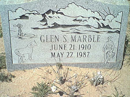 MARBLE, GLEN S. - Cochise County, Arizona | GLEN S. MARBLE - Arizona Gravestone Photos