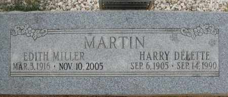 MARTIN, HARRY DELETTE - Cochise County, Arizona | HARRY DELETTE MARTIN - Arizona Gravestone Photos