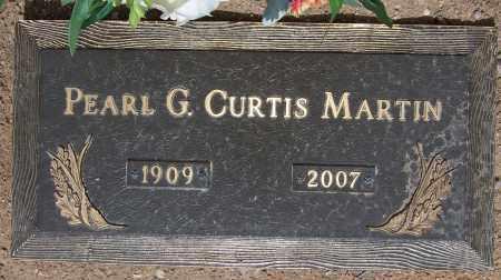 CURTIS MARTIN, PEARL G. - Cochise County, Arizona | PEARL G. CURTIS MARTIN - Arizona Gravestone Photos