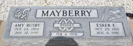 MAYBERRY, ESKER F. - Cochise County, Arizona | ESKER F. MAYBERRY - Arizona Gravestone Photos
