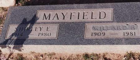 MAYFIELD, SHIRLEY E - Cochise County, Arizona   SHIRLEY E MAYFIELD - Arizona Gravestone Photos