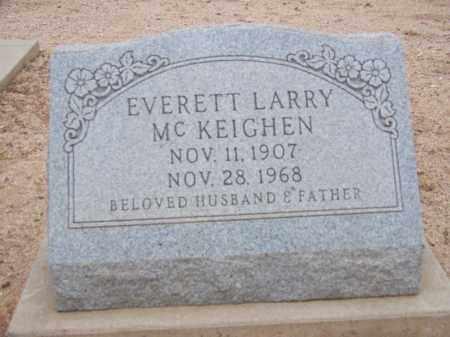 MC KEIGHEN, EVERETT LARRY - Cochise County, Arizona | EVERETT LARRY MC KEIGHEN - Arizona Gravestone Photos