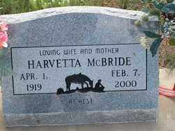 FOLLETT MCBRIDE, HARVETTA - Cochise County, Arizona | HARVETTA FOLLETT MCBRIDE - Arizona Gravestone Photos