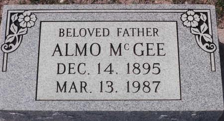 MCGEE, ALMO - Cochise County, Arizona   ALMO MCGEE - Arizona Gravestone Photos