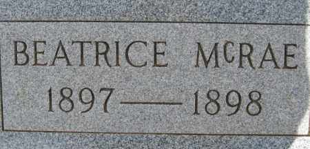 MCRAE, BEATRICE - Cochise County, Arizona | BEATRICE MCRAE - Arizona Gravestone Photos