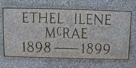 MCRAE, ETHEL ILENE - Cochise County, Arizona | ETHEL ILENE MCRAE - Arizona Gravestone Photos