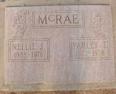 MCRAE, PARLEY T. - Cochise County, Arizona   PARLEY T. MCRAE - Arizona Gravestone Photos