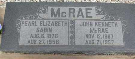 MCRAE, JOHN KENNETH - Cochise County, Arizona | JOHN KENNETH MCRAE - Arizona Gravestone Photos