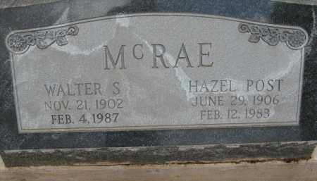POST MCRAE, HAZEL - Cochise County, Arizona | HAZEL POST MCRAE - Arizona Gravestone Photos