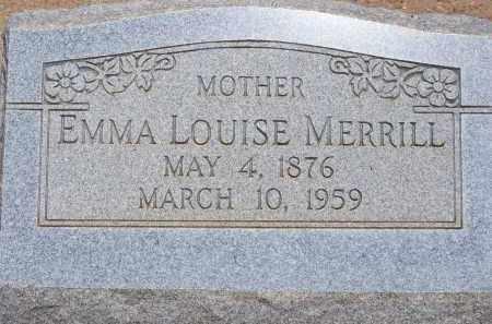 MERRILL, EMMA LOUISE - Cochise County, Arizona   EMMA LOUISE MERRILL - Arizona Gravestone Photos