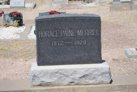 MERRILL, HORACE - Cochise County, Arizona | HORACE MERRILL - Arizona Gravestone Photos
