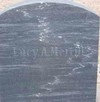 MERRILL, LUCY A. - Cochise County, Arizona | LUCY A. MERRILL - Arizona Gravestone Photos