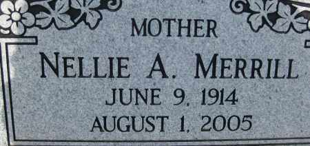 MERRILL, NELLIE A. - Cochise County, Arizona | NELLIE A. MERRILL - Arizona Gravestone Photos