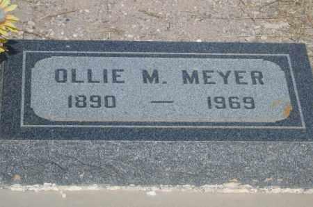 MEYER, OLLIE M. - Cochise County, Arizona | OLLIE M. MEYER - Arizona Gravestone Photos