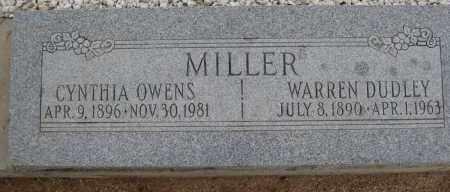 MILLER, CYNTHIA OWENS - Cochise County, Arizona | CYNTHIA OWENS MILLER - Arizona Gravestone Photos
