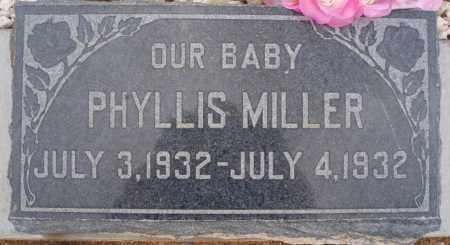 MILLER, PHYLLIS - Cochise County, Arizona | PHYLLIS MILLER - Arizona Gravestone Photos
