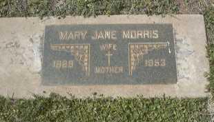 MORRIS, MARY JANE - Cochise County, Arizona | MARY JANE MORRIS - Arizona Gravestone Photos
