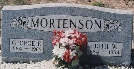 MORTENSON, EDITH W - Cochise County, Arizona   EDITH W MORTENSON - Arizona Gravestone Photos