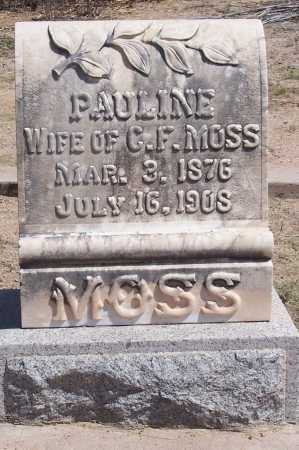 MOSS, PAULINE - Cochise County, Arizona | PAULINE MOSS - Arizona Gravestone Photos