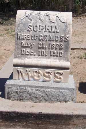 MOSS, SOPHIA - Cochise County, Arizona   SOPHIA MOSS - Arizona Gravestone Photos